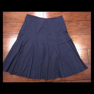 New York & Co navy blue skirt size 6